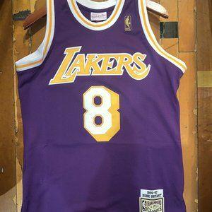 👣LA LAKERS Kobe Bryant #8 purple jersey